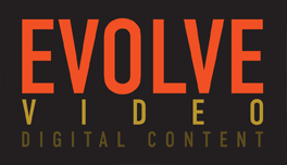 evolve video logo